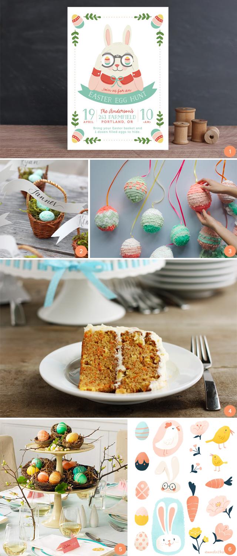 carrot cake easter egg hunt inspiration