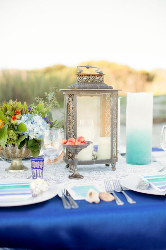 Bohemian beach tabletop