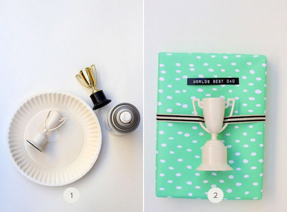 father's day gift wrap idea