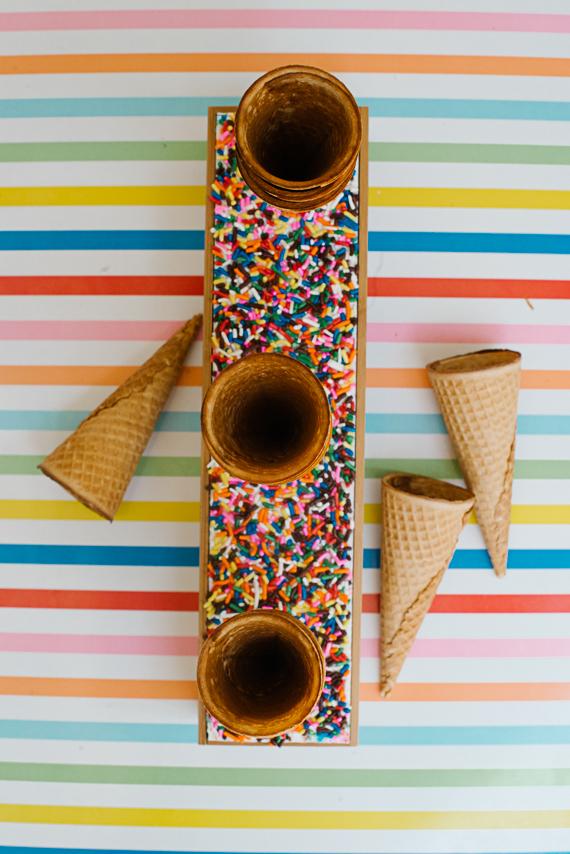 diy ice cream cone holder