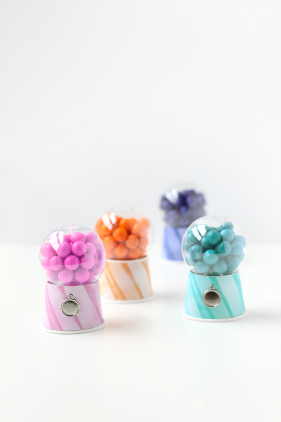 mini bubblegum dispensers by kelli hall