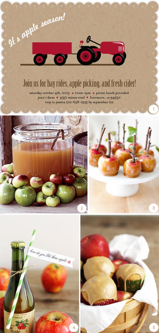 fall autumn harvest party ideas