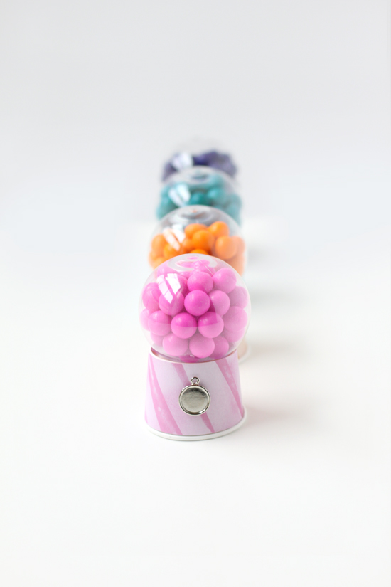 Diy Bubble Gum Dispensers With Printable Julep