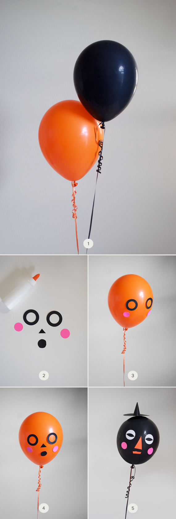 DIY: Halloween Balloon Faces | Julep