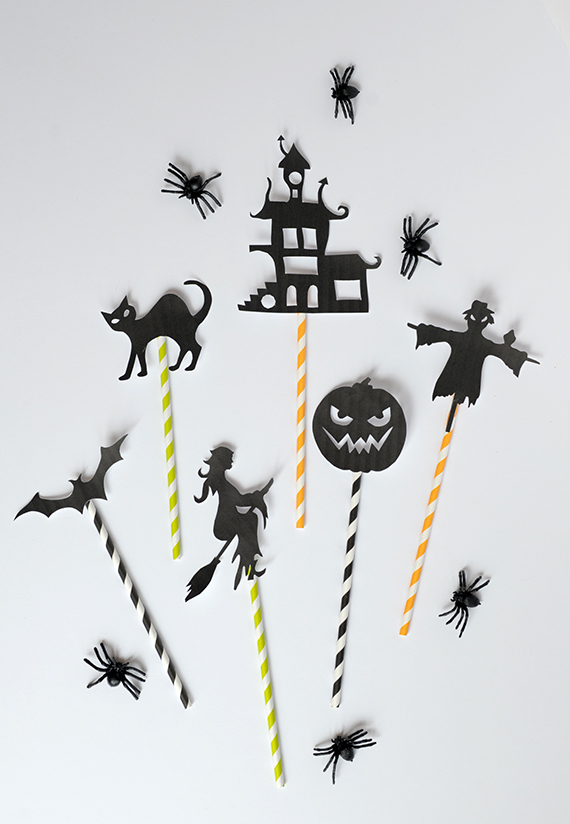diy halloween shadow puppets with free template julep