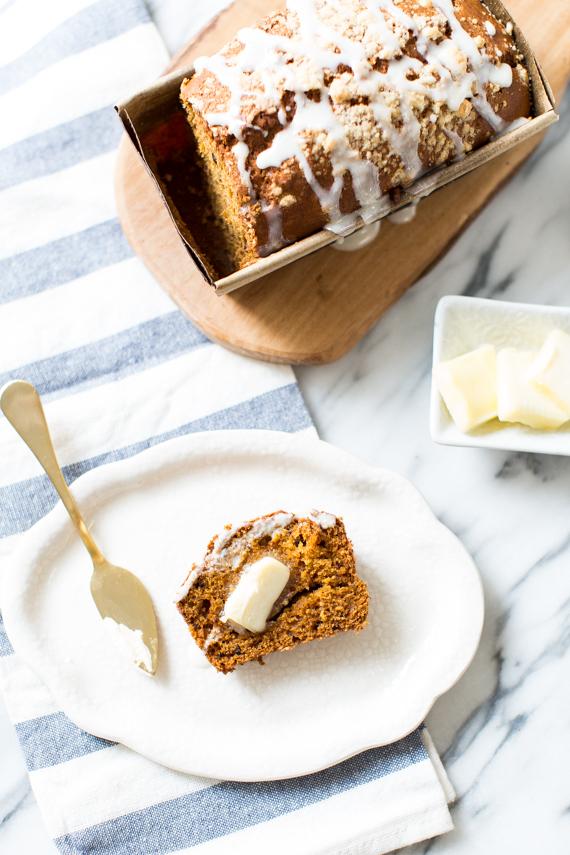 pumpkin loaf cake recipe