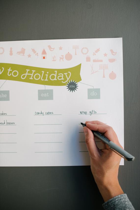 holiday activity list