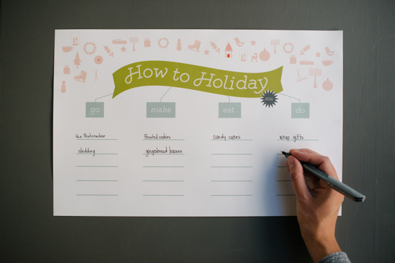 fill-in holiday list