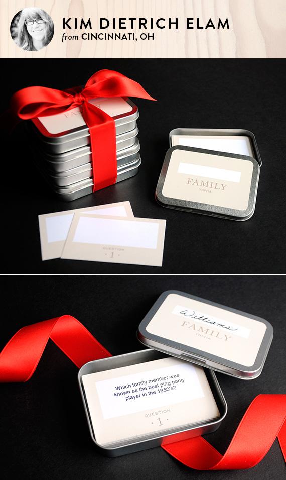 Diy printable family trivia game julep name kim dietrich elam solutioingenieria Image collections