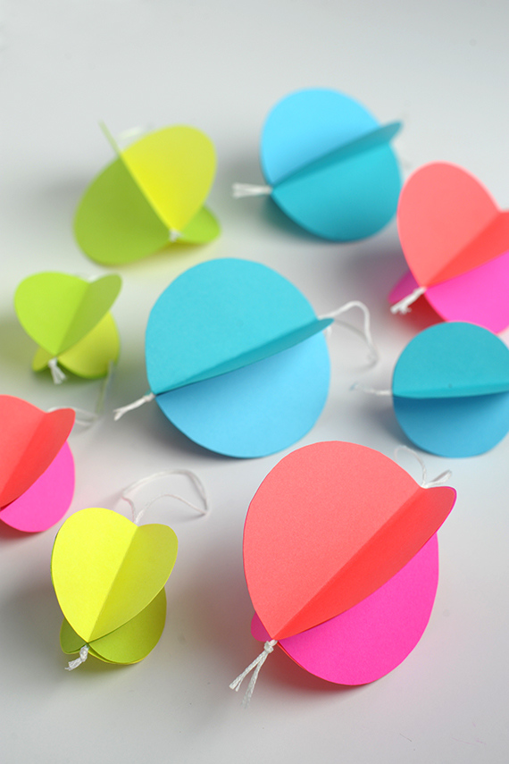 diy paper decorations. easy paper ornaments for the holidays diy decorations