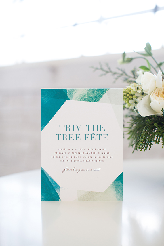 prism tree trimming invite