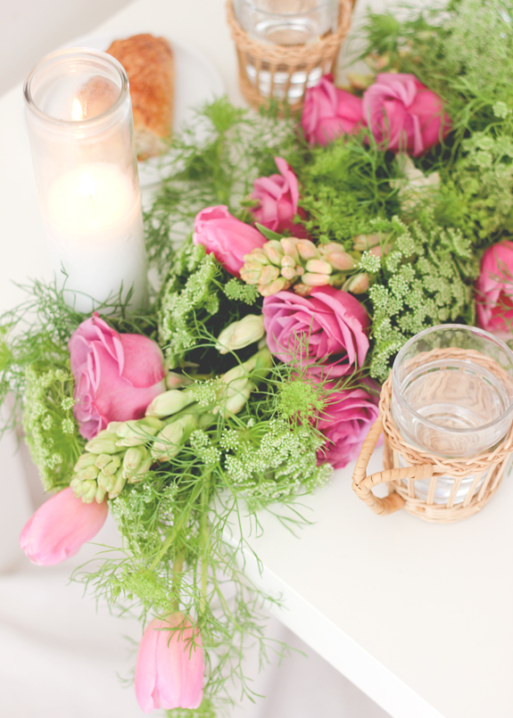DIY Wedding: Fresh Floral Table Runner | Julep