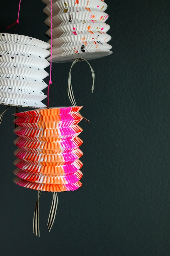 paper lanterns for a party