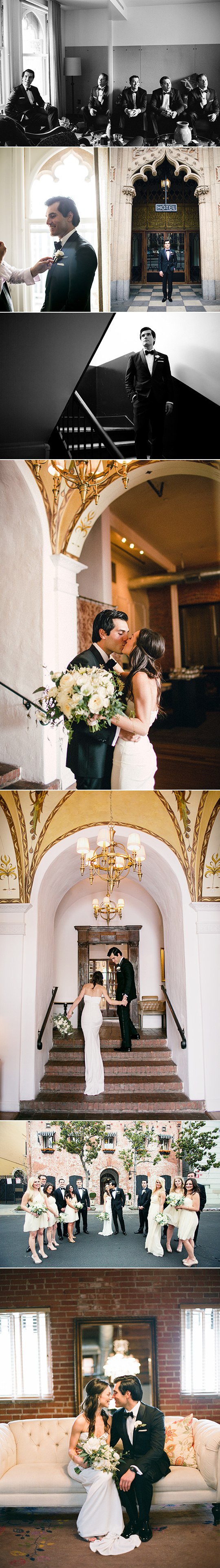 Minted Real Wedding / Carondelet House, Los Angeles