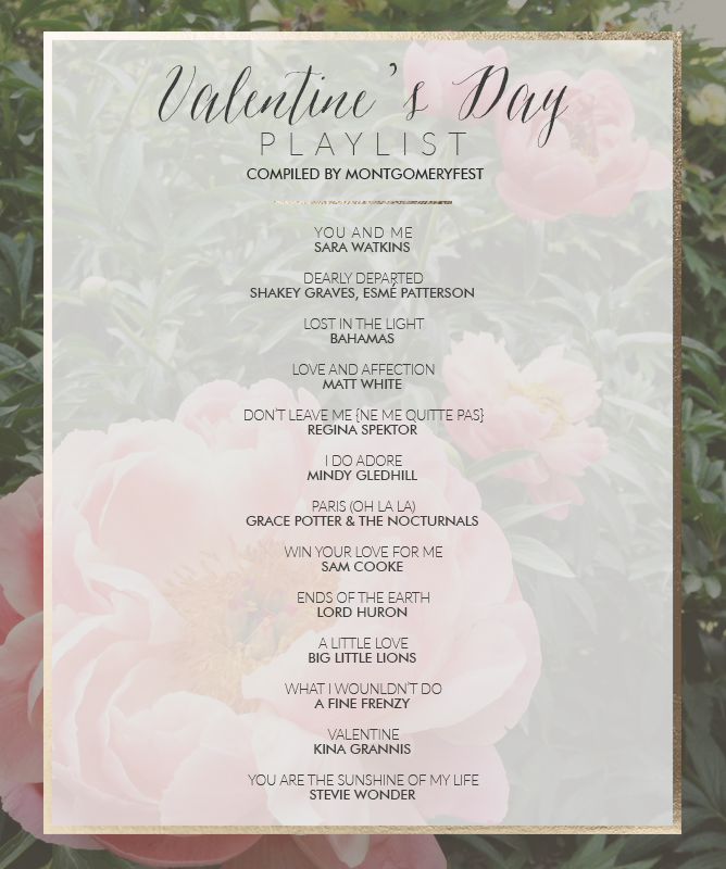 Valentine's Day Playlist from Julep