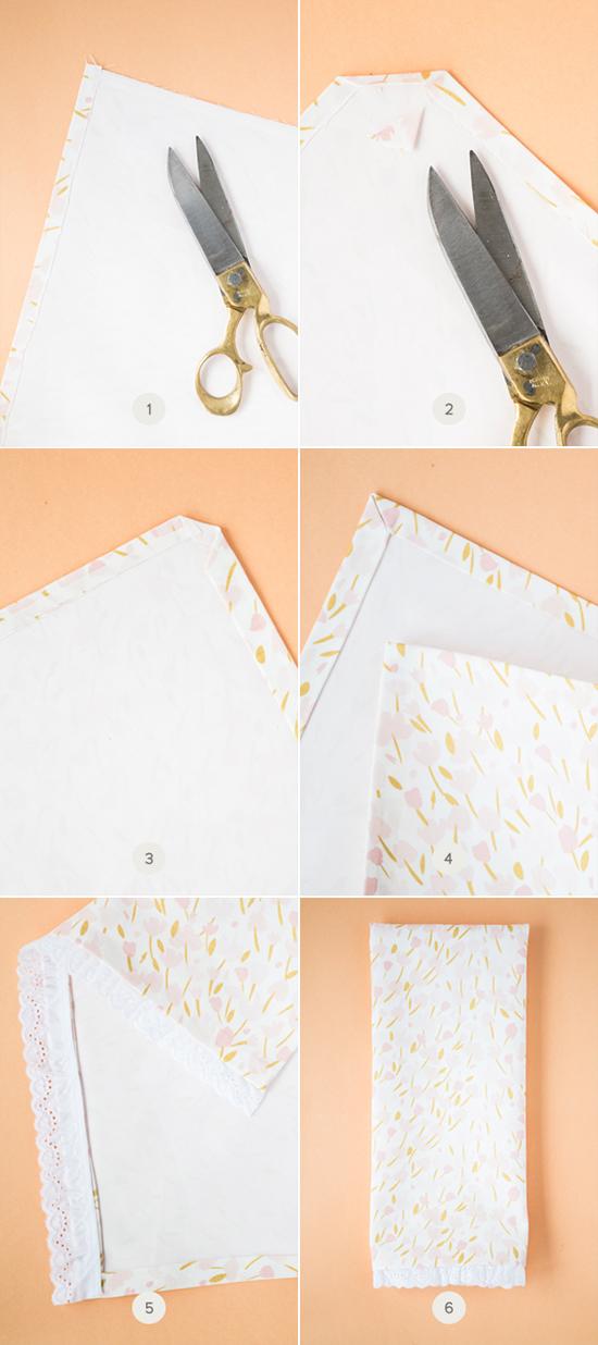 DIY No-Sew Tea Towels