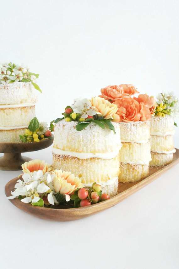 DIY How to Make Mini Naked Cakes Julep