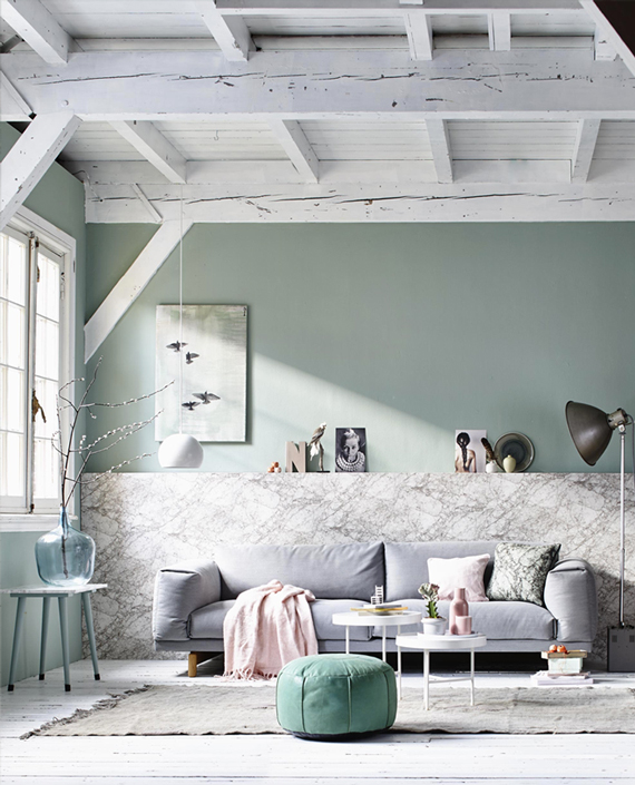 Recreate This Room: Pastel Living Room