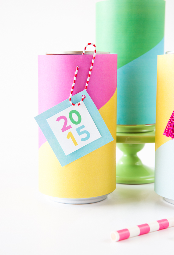 Colorful Soda Can Wrappers free printable | Julep TEST 3