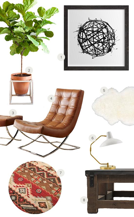 Recreate This Room: Earthy Nook