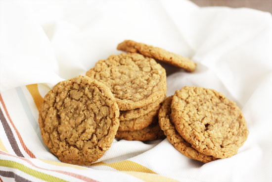 old-fashioned oatmeal cookies teacher gifts