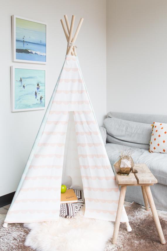 Diy Fabric Play Tent Julep
