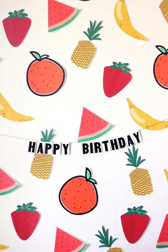 fruit party ideas