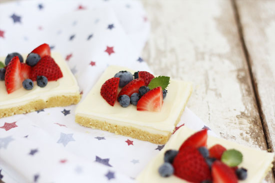red white and blue 4th of july treats