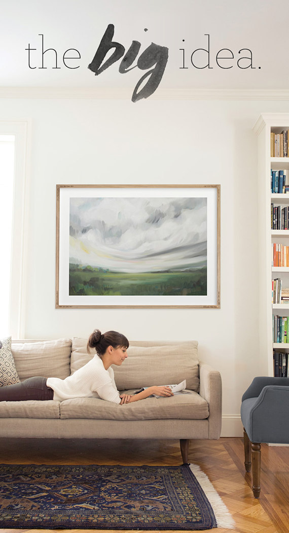 Home Decor Trend: Oversize Art