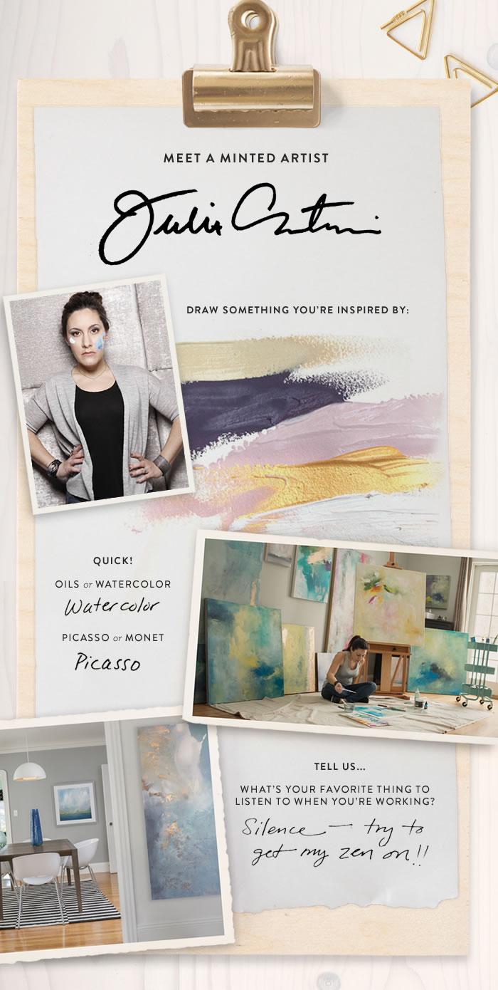 Q&A: Minted Artist Julia Contacessi