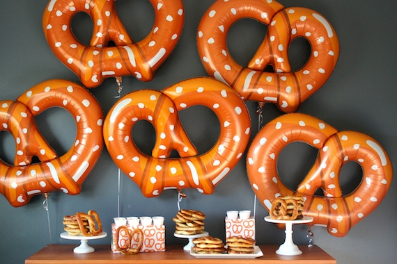 soft pretzel party