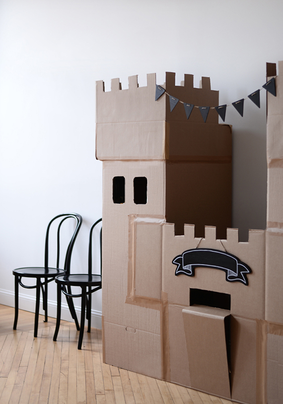 Cardboard Box-Themed Birthday Party Ideas