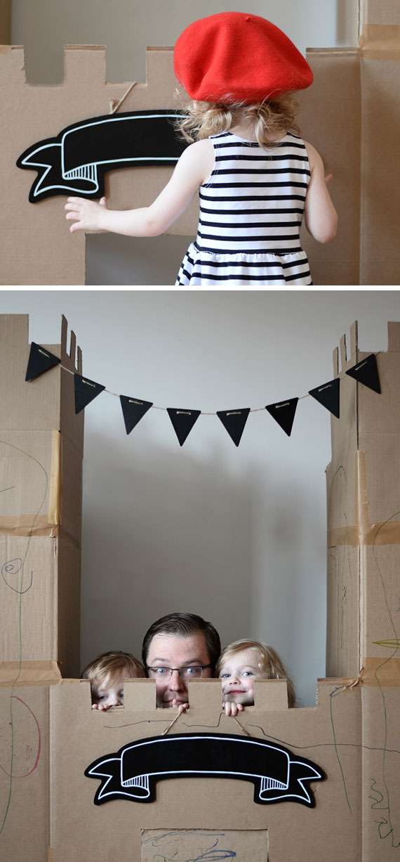 Creative Kids' Birthday Party Ideas: Cardboard Box Theme