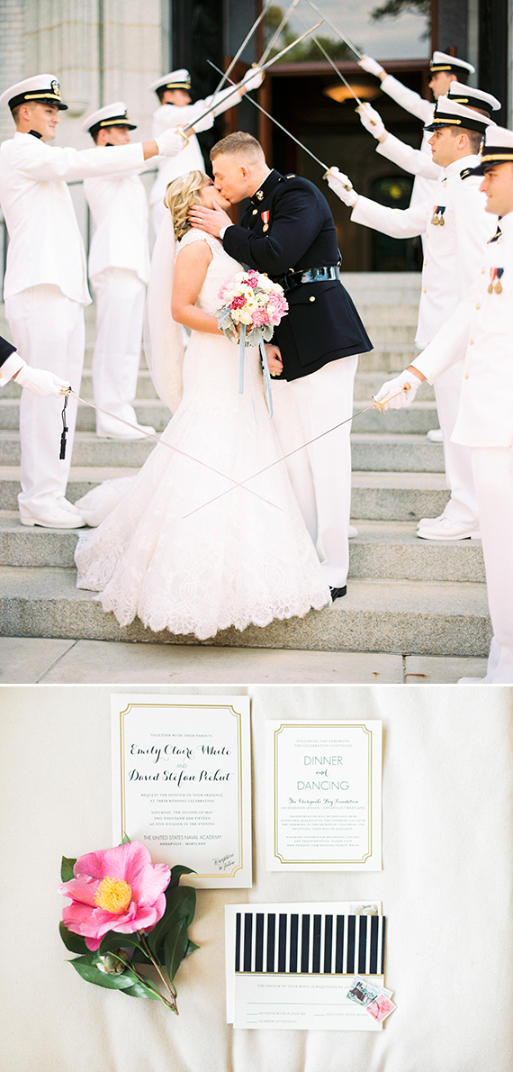 Minted Real Wedding: Emily & David in Annapolis, MD