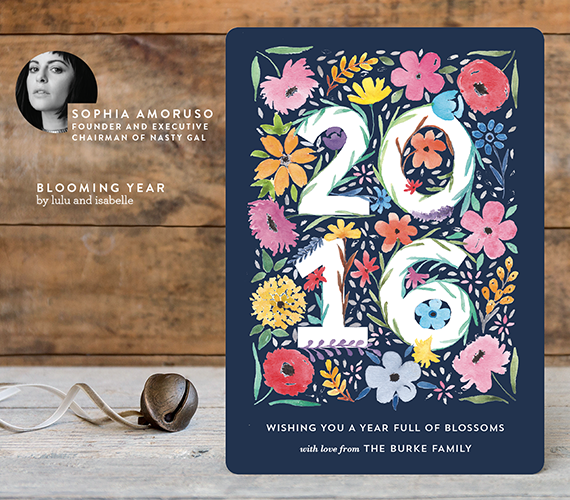 Corporate Holiday Card Ideas | Minted and Nasty Gal