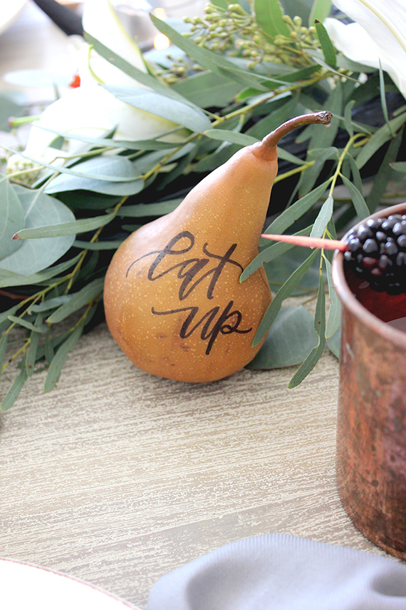 Calligraphy Pears