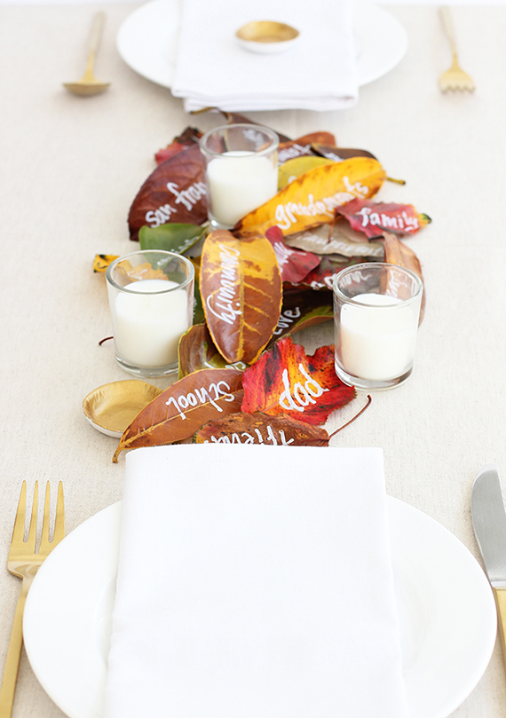 DIY Quick Thanksgiving Decor Idea by alice & lois for Julep