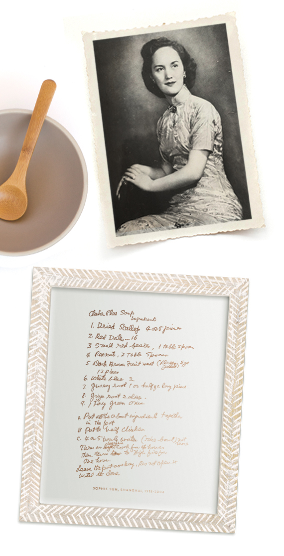 Holiday Gift Idea: Family Recipe Keepsake Art Print