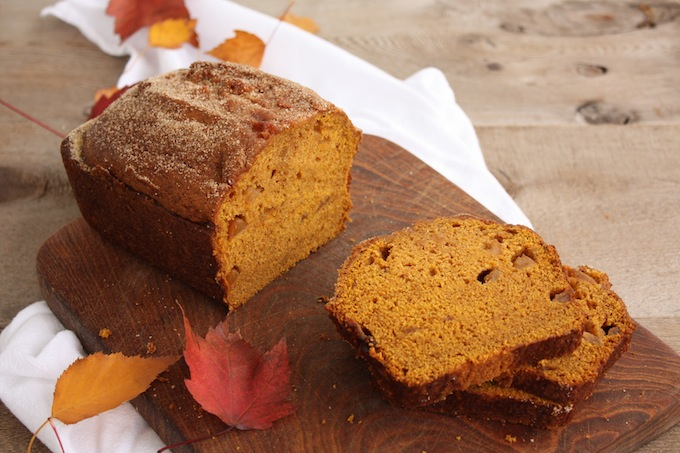 spiced cinnamon apple pumpkin bread recipe