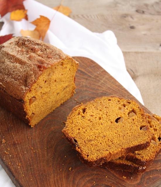 spiced cinnamon apple pumpkin bread recipe