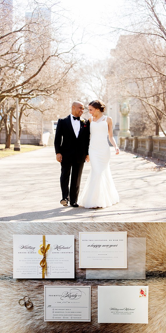 Chicago Wedding at The Blackstone Hotel