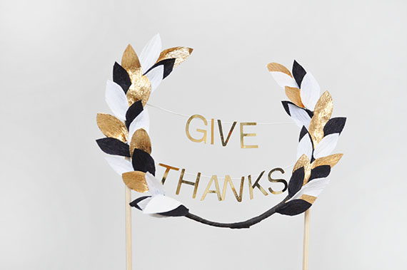 Thanksgiving Pie Topper