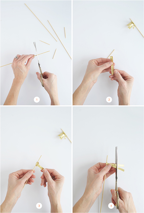 The easiest DIY drink stirrers you can whip up for New Year's Eve