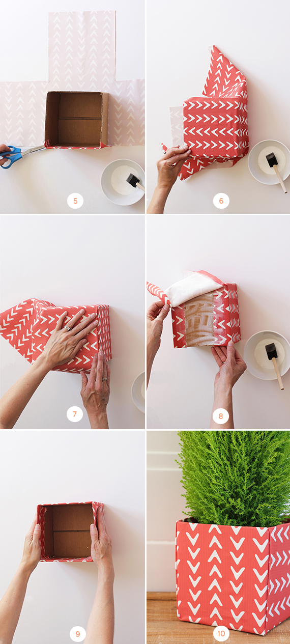 DIY Fabric Christmas Tree Box Tutorial