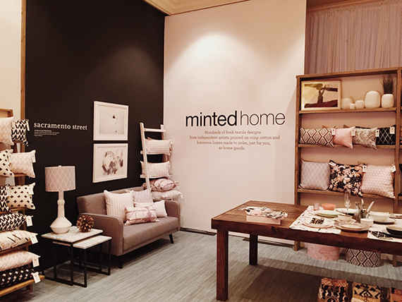 Conference Attendees Got A First Hand Look At Minted Home Decor And How It S In Perfect Company With Art