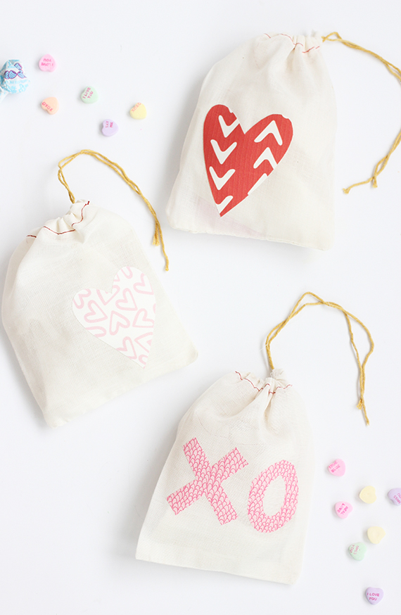 DIY Valentine Treat Bag | alice & lois for minted