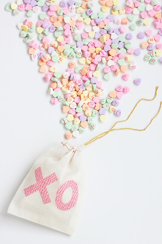 DIY Valentine Treat Bag | alice & lois for minted