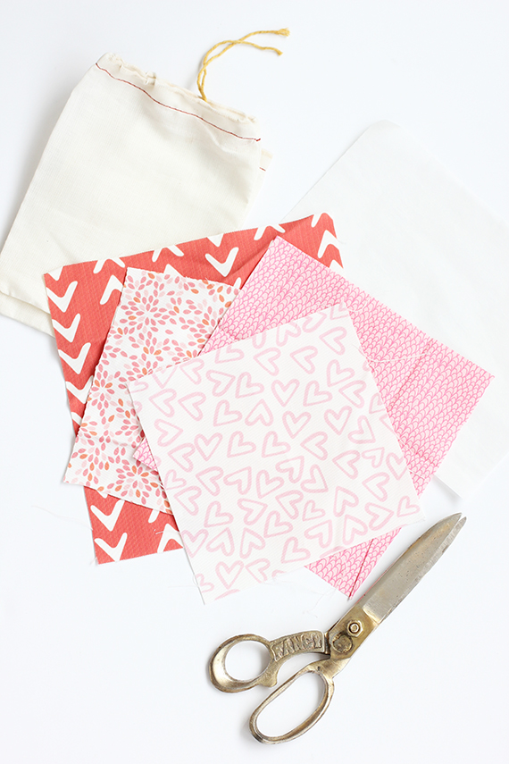 DIY Valentine Iron-on Treat Bag | alice & lois for minted