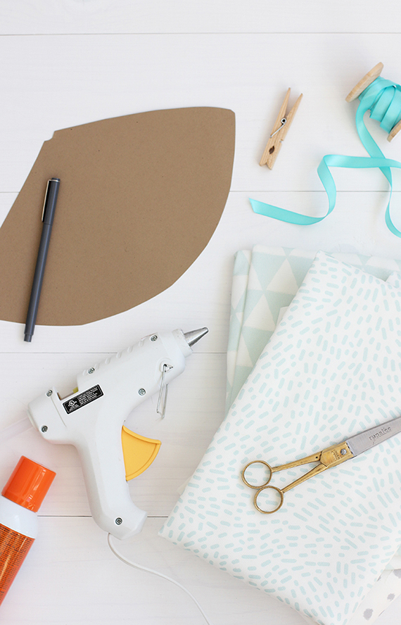 DIY Fabric Covered Party Hat | alice & lois for minted