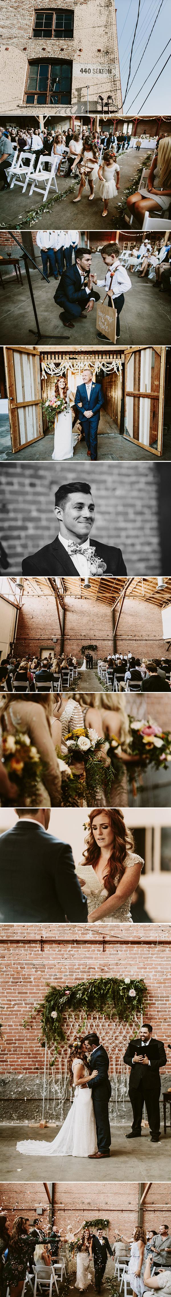 440 Seaton Los Angeles Wedding